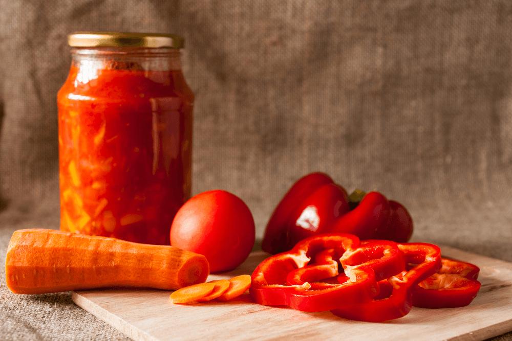 Как приготовить лечо из болгарского перца, томатов и лука. Рецепт заготовки на зиму