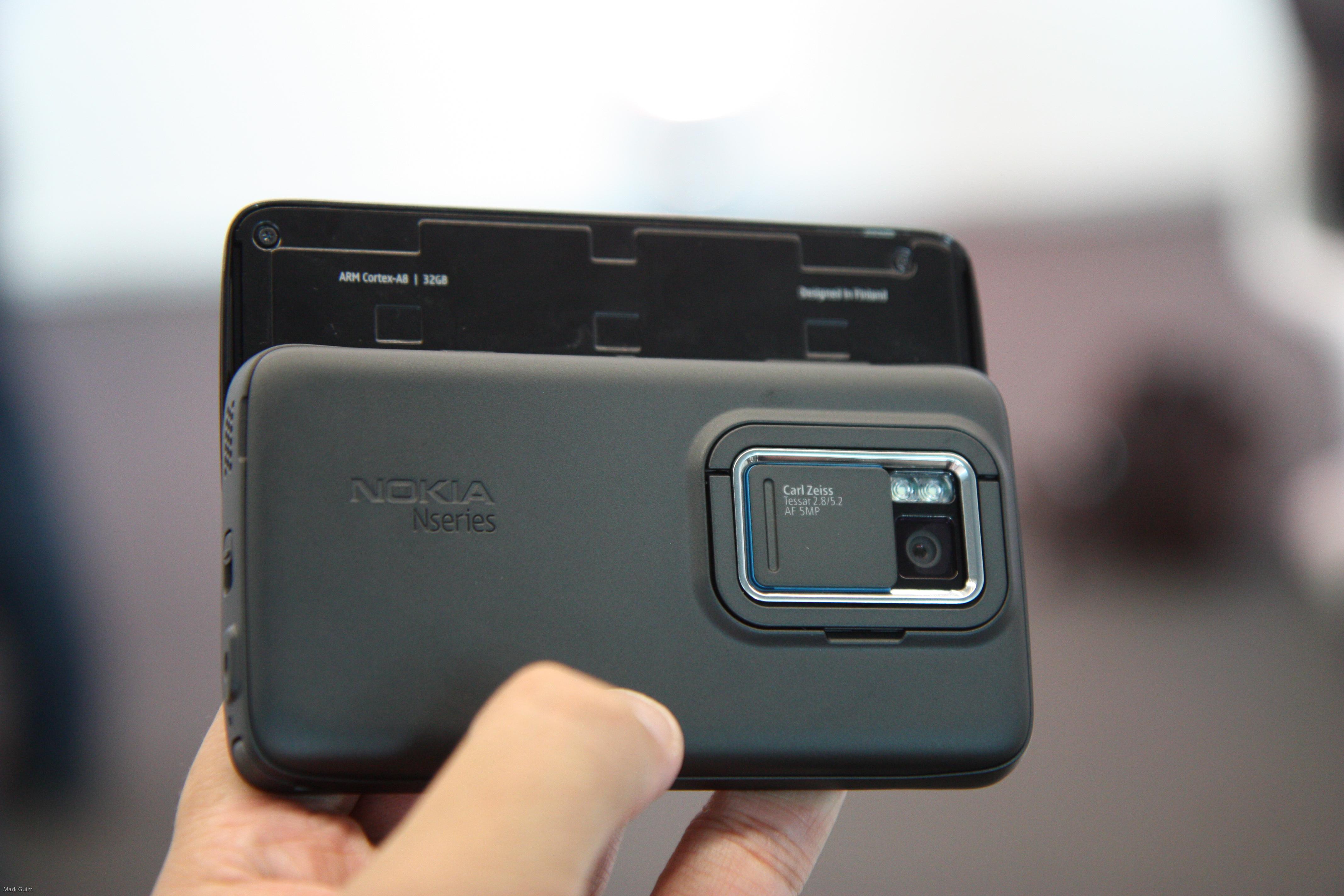 Мобильный телефон Nokia N900.  Описание, обзор  и характеристики  мобильного  телефона Nokia N900.