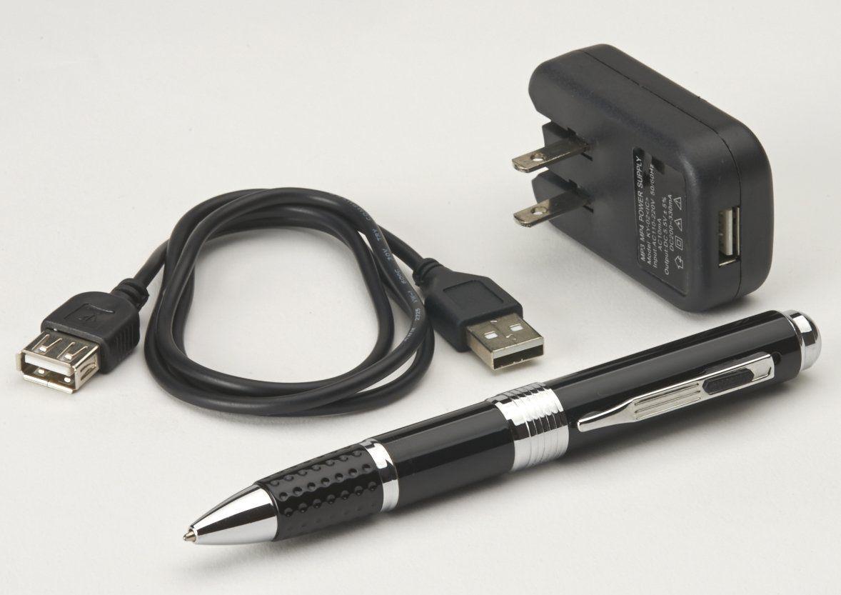 Авторучка - Диктофон – плеер – FM-приемник, 4 Гб память, MP3. Мечта студента.