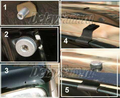 Спойлер и дефлекторы для Mitsubishi L200. Защита капота и улучшение аэродинамики автомобиля L200
