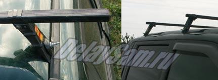 Самодельный багажник для пикапа Mitsubishi (Мицубиси) L200. Адаптация багажника, фото.