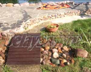Как сделать декоративный мини-водоем озеро на дачном участке. Ландшафтный дизайн