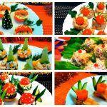 6 Очень Вкусных Закусок на НОВЫЙ ГОД & Праздничные рецепты — Как красиво оформить стол