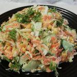 Быстрый Сочный салат из капусты/Рецепты салатов/ Салаты