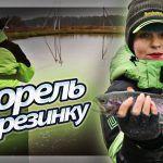 ФОРЕЛЬ на РЕЗИНУ. Клюет ОДНА ЗА ОДНОЙ! Рыбалка на спиннинг #140