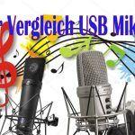 Großer USB Mikrofontest Rode NT USB, Samson G-Track und Auna Mic900B für YouTube