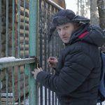 Как открыть навесной замок в мороз