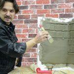 Как сделать углы валиком Валиком под кирпич Cappella? Самый популярный вопрос!
