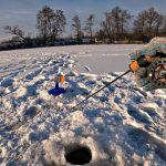 Ловля щуки на жерлицы. Судак на балансир. Зимняя рыбалка на реке 2019