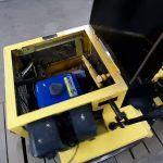 Минитрактор- погрузчик.Как сделать механизм управления КПП, рычаг,кулиса.