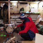 Печь для Зимней Рыбалки и Походной Бани — Лучший Подарок на Новый Год Для Рыбака