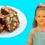 Простые рецепты с Китти: Шоколодная колбаска   Волшебница Китти