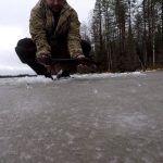 Рыбалка на жерлицы в Карелии