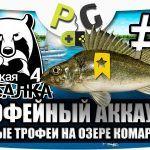 Русская Рыбалка 4 Трофейный аккаунт #1 Первые трофеи на озере Комариное | PG Potryasov Game
