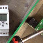 Timer relay switch repair DIY