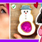 ВКУСНЯШКИ на НОВЫЙ ГОД — Реакция на Лайфхаки и Рецепты сладостей на Рождество