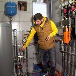 Водоснабжение и отопление в загородном доме