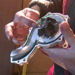 Wechsel der Wasserpumpe am Golf 4 Cabrio mit dem 2l AWG Motor
