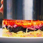 За уши не оттащишь! Вкусно и без майонеза! 3 рецепта салатов, которые съедаются первыми!