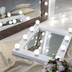 Как сделать гримерное зеркало своими руками?