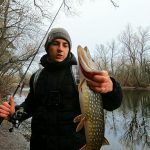 Рыбалка на ЩУКУ НА ДЖИГ ЗИМОЙ. TICT ICE CUBE ROCKIN' BEAST 86.5″