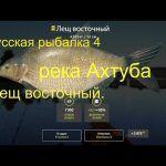 Русская рыбалка 4(рр4) — река Ахтуба. Лещ восточный.