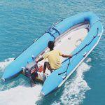 Надувная лодка – весьма полезная вещь для рыболова