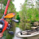 Catching GIANT Bass in HIDDEN CREEKS (Jon Boat Fishing)