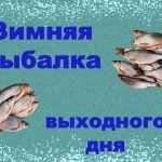 Зимняя рыбалка выходного дня, 23 февраля.