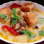 Рецепт сырного супа с шампиньонами  Божественный вкус