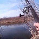 Рыбалка на Куде в конце апреля