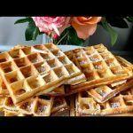 Вафли для вафельницы рецепты. Бельгийские Вафли. Самый лучший рецепт Вафель ! WAFFLES