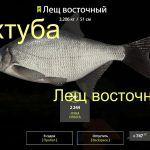 русская рыбалка 4 ахтуба лещ восточный