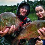 Рыбалка С Ночёвкой  Я, ЖЕНА и ЖОР ЛЕЩА! Overnight fishing with my sexy wife… WATCH HER in action