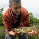 Микроджиг весной в мае. Рыбалка на малой реке. Ловля окуня и щуки. Shimano 17 Soare ci4+ S706UL-S